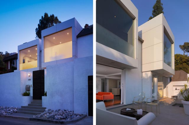 Hollywood Hills Residence by Griffin Enright Architects