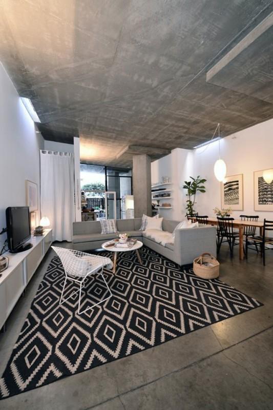 Concrete Loft house Concrete Loft in San Diego, California Concrete Loft in San Diego, California 5 528e1411697ab02545004b3d