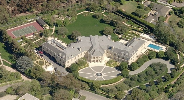 Top 10 Most Expensive Celebrity Homes - Top Teny 2018