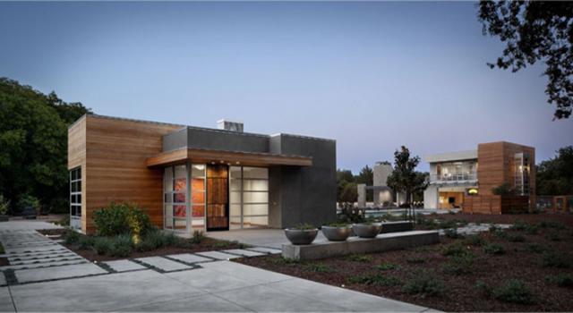 Rustic Flare Home in LA Entrance