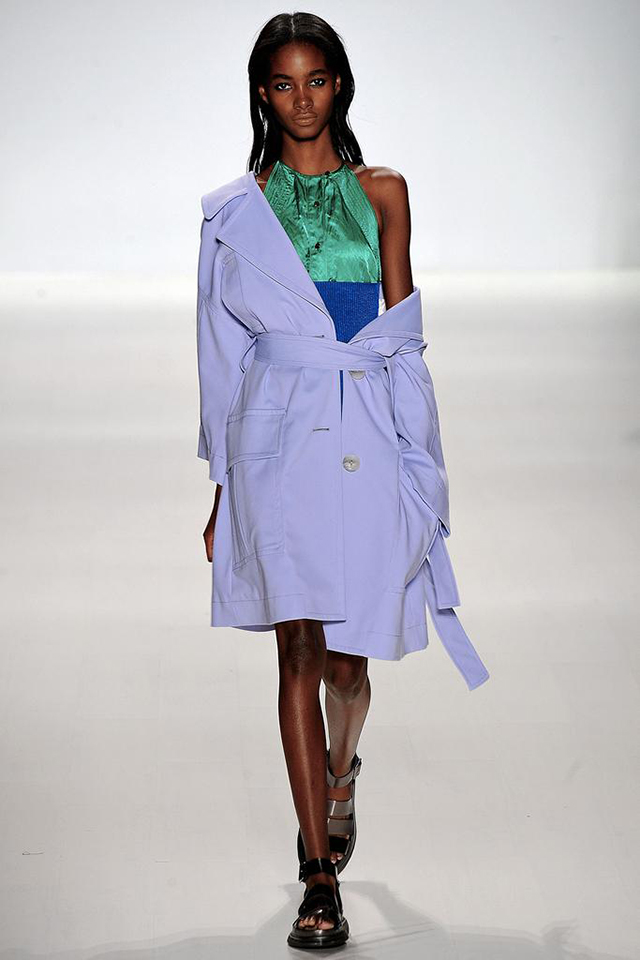 1 RICHARD CHAI and TADASHI SHOJI  Fashion Trend : mixed metallics  New York Fashion Week Trends in Your Home New York Fashion Week Trends in Your Home NYFashion for home