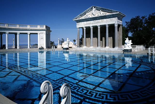 Weekend Escape Los Angeles Hearst_castle_pool