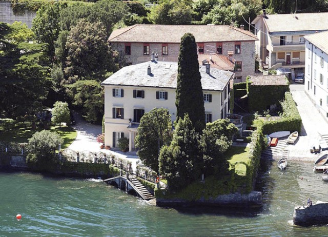 11. George Clooney (Lake Como) celebrity homes The 50 most stunning celebrity homes in Los Angeles 11