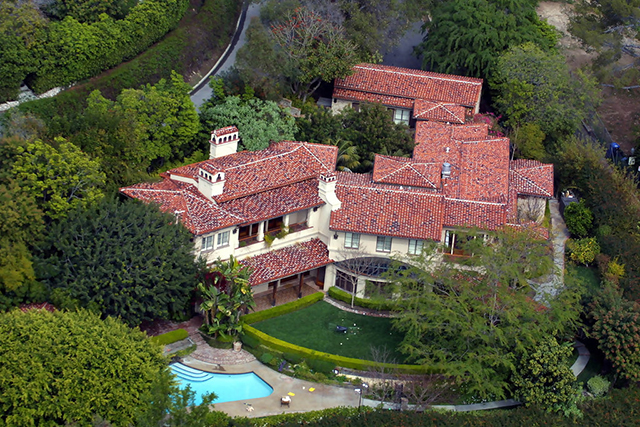 31. Meg Ryan (Bel Air) celebrity homes The 50 most stunning celebrity homes in Los Angeles 31