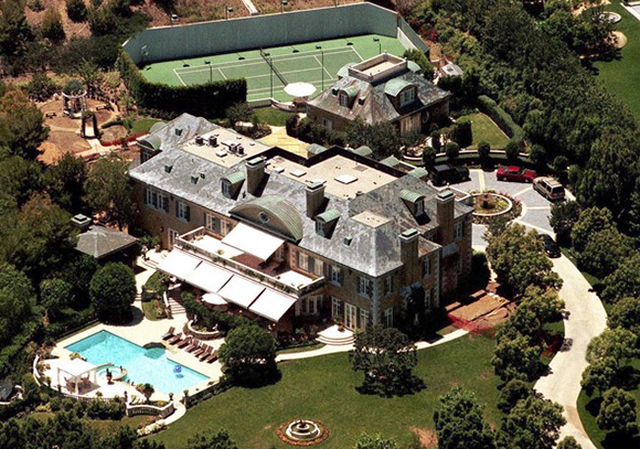 37. Rod Stewart (Beverly Hills) celebrity homes The 50 most stunning celebrity homes in Los Angeles 37