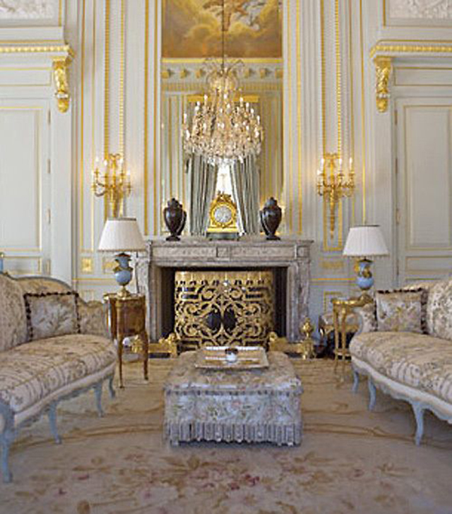 Luxury Homes In Los Angeles: Fleur De Lys Stunning French Mansion In Los Angeles