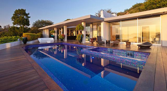 1950′S house in Beverly Hills by Pablo Jendretzki