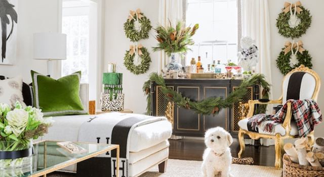 Top 8 Pinterest Living Room Christmas Decorations