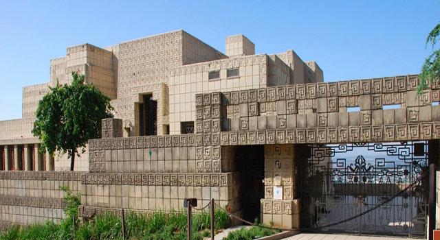 Frank Lloyd Wright's Mayan temple in Los Angeles Frank Lloyd Wright's Mayan temple in Los Angeles EnnisHouseCOVER