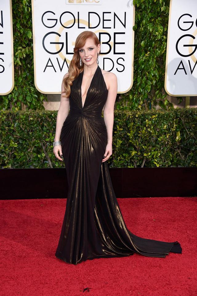 2015-golden-globes-style-8 Golden Globe 2015 Style Golden Globe 2015 Style best dresses of 2015 golden globes 8