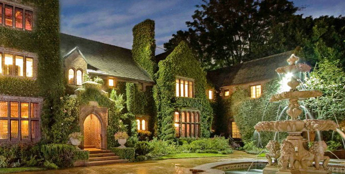 Nicolas Cage's former Bel Air Mansion