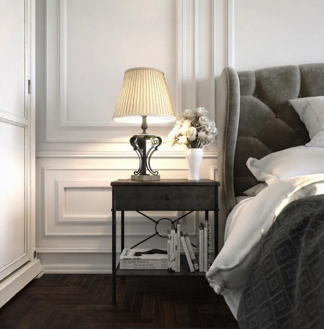 Modern-Nighstand-Gray Top 20 modern design nightstands for a luxury bedroom Top 20 modern design nightstands for a luxury bedroom Modern Nighstand Gray