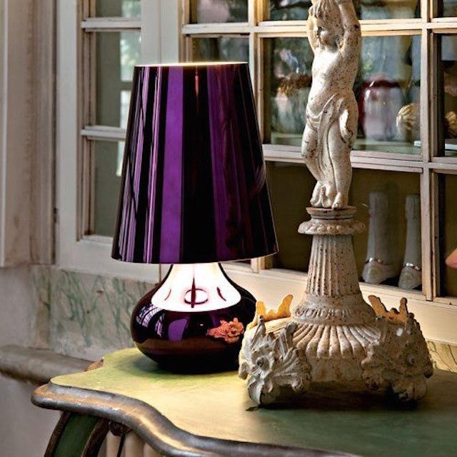 cindy-lamp-kartell 20 modern design table lamps for your dining room 20 modern design table lamps for your dining room cindy lamp kartell