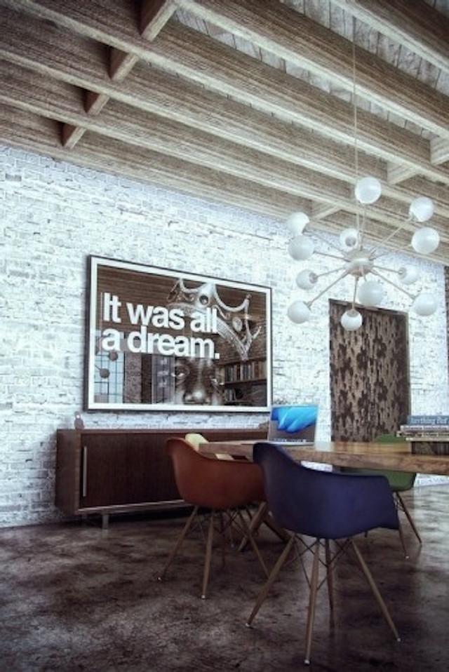 top-10-industrial-dining-room-design-vintage-3 Industrial decor ideas for dining rooms Industrial decor ideas for dining rooms top 10 industrial dining room design vintage 3