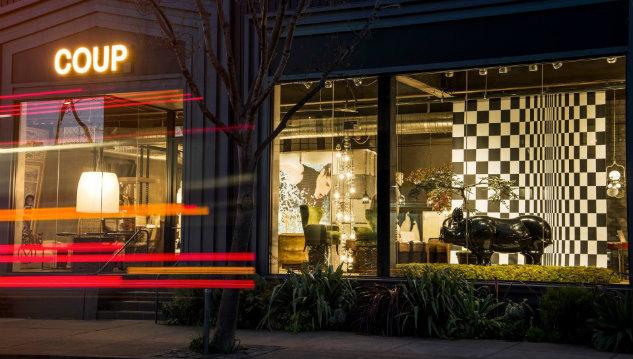 Coup D\'Etat a Luxury Showroom in San Francisco | Los Angeles Homes