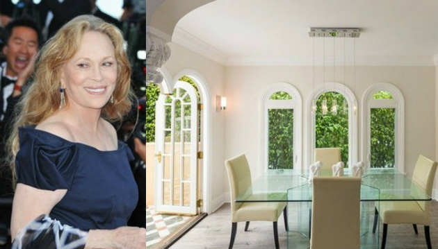 Faye Dunaway's West Hollywood Home