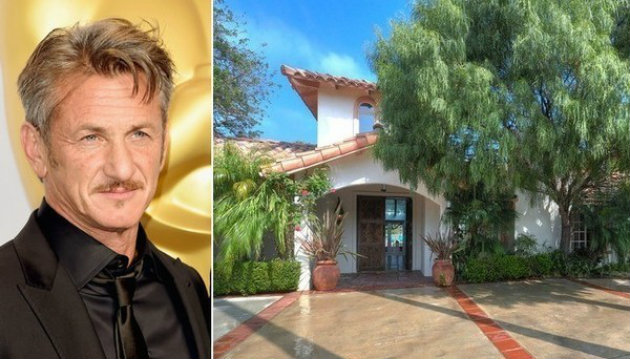 Sean Penn's Malibu Hacienda on the Market