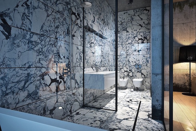 Marble Bathroom ideas to inspire your luxury homes4