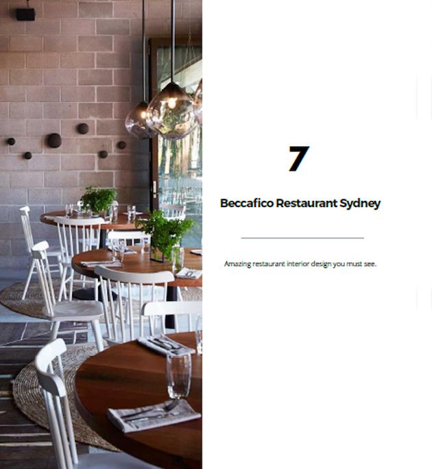 free e-book  e-book Free E-book – 100 best restaurant interiors img slide 2