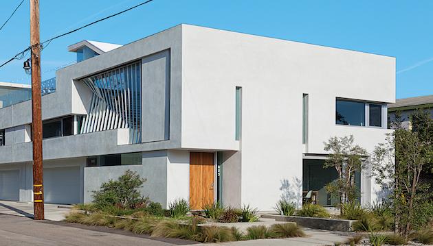 A minimalist design duplex in venice los angeles homes for Minimalist house los angeles