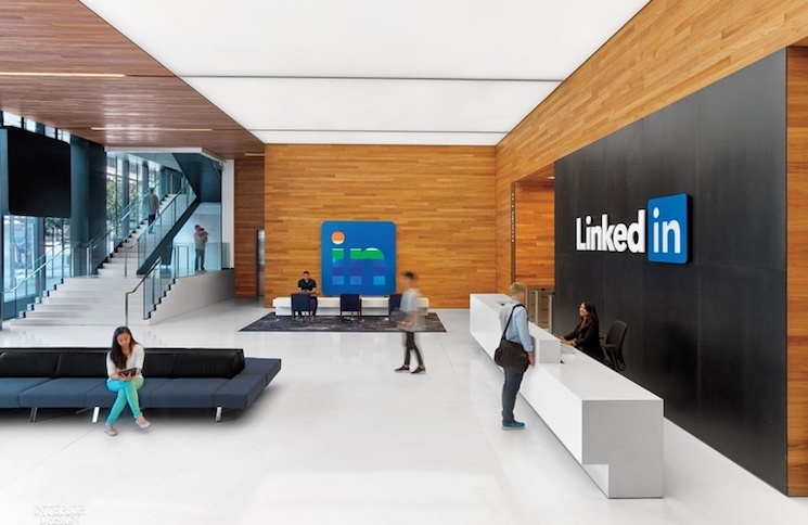 LinkedIn San Francisco Office by Interior Architects