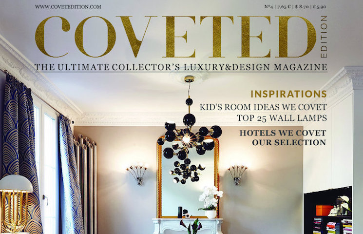 interior design magazines Best US interior design magazines CovetED Magazine Delightfull1