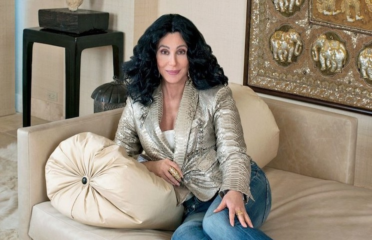 BE MESMERISED BY CHER'S ASTONISHING CALIFORNIA HOMES