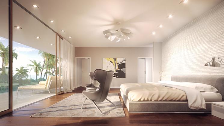 Venus Williams venus williams Must-see Interior Design Projects by Venus Williams 10VW 11 Botaniko Contemporary Bedroom Oppenheim Image D