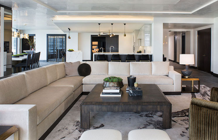 Penthouses with a view of the Griffith Observatory