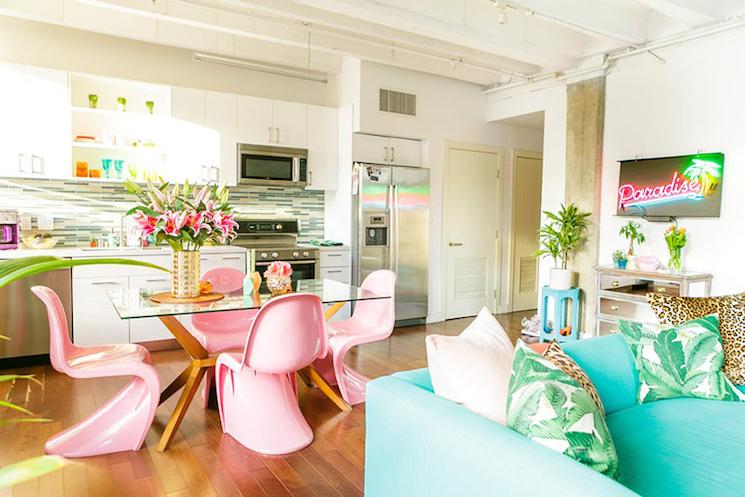 modern interior design modern interior design the tropical modern interior design of a colorful apartment in - Tropical Apartment Design