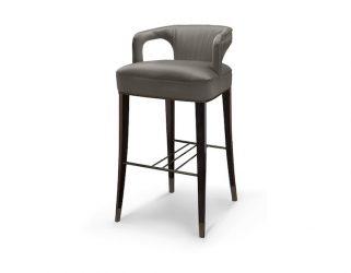 modern interior design The tropical modern interior design of a colorful apartment in LA karoo bar chair 9 HR 321x250