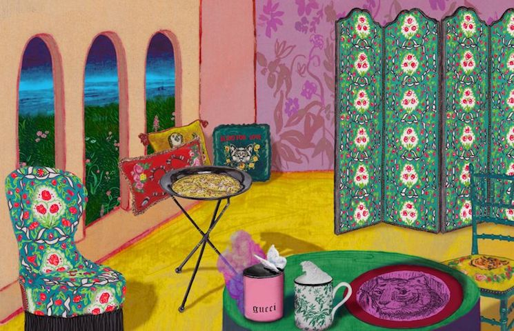 Gucci's Homeware Line Is Everything We Want It To Be