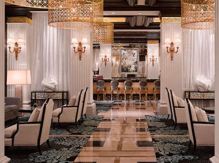hirsch bedner associates Top Interior Designers | Hirsch Bedner Associates 2456 Lobby Lounge 2