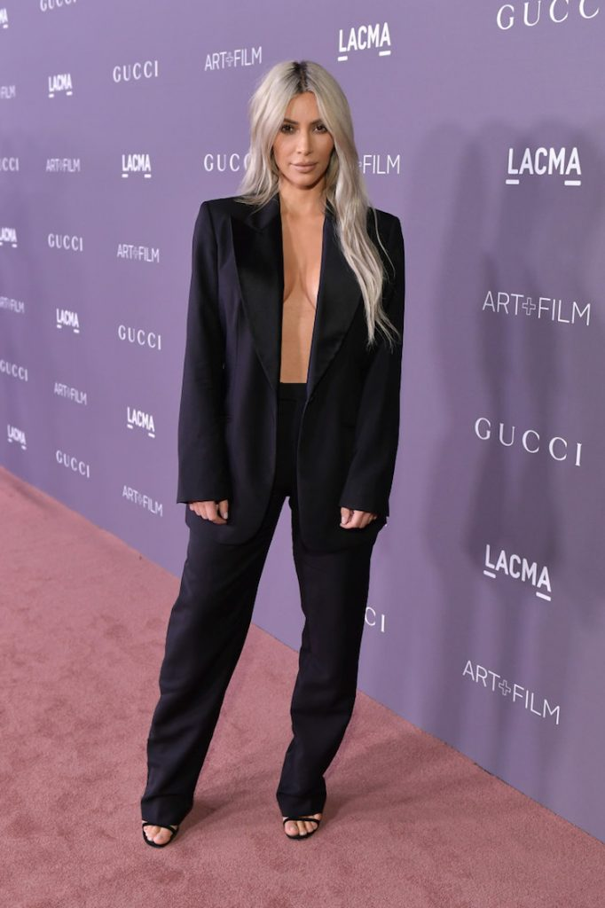 GUCCI-CLAD STARS SEE ALL THE GUCCI-CLAD STARS AT LACMA'S ART+FILM GALA kim kardashian lacma gala 2017