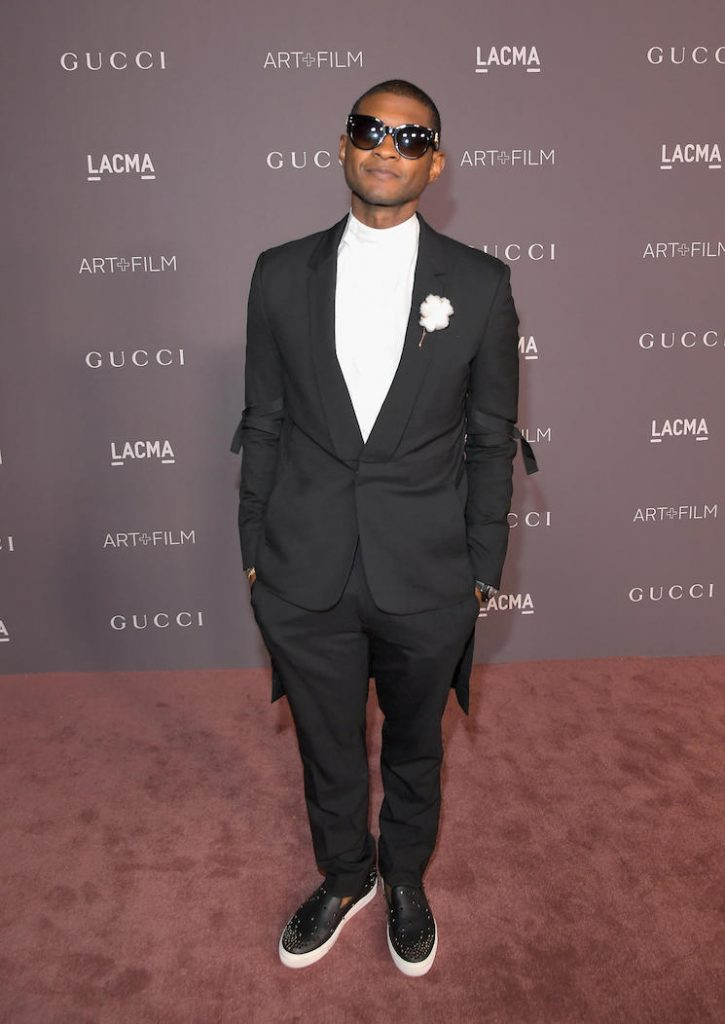 SEE ALL THE GUCCI-CLAD STARS AT LACMA'S ART+FILM GALA GUCCI-CLAD STARS SEE ALL THE GUCCI-CLAD STARS AT LACMA'S ART+FILM GALA usher lacma