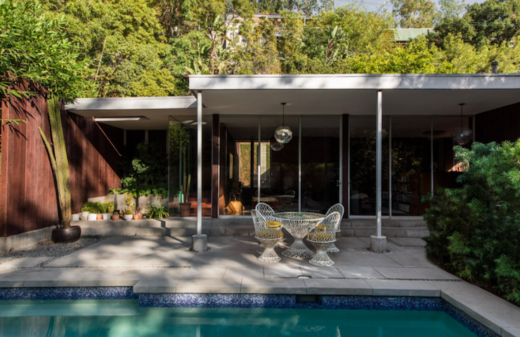 Inside Brynn Jones and Ness Saban's Mid-Century Gem