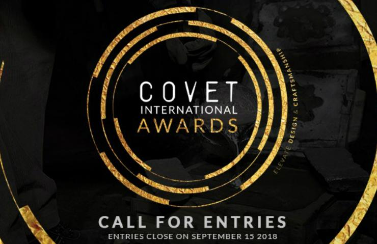 COVET INTERNATIONAL AWARDS SET TO ELEVATE DESIGN AND CRAFTSMANSHIP