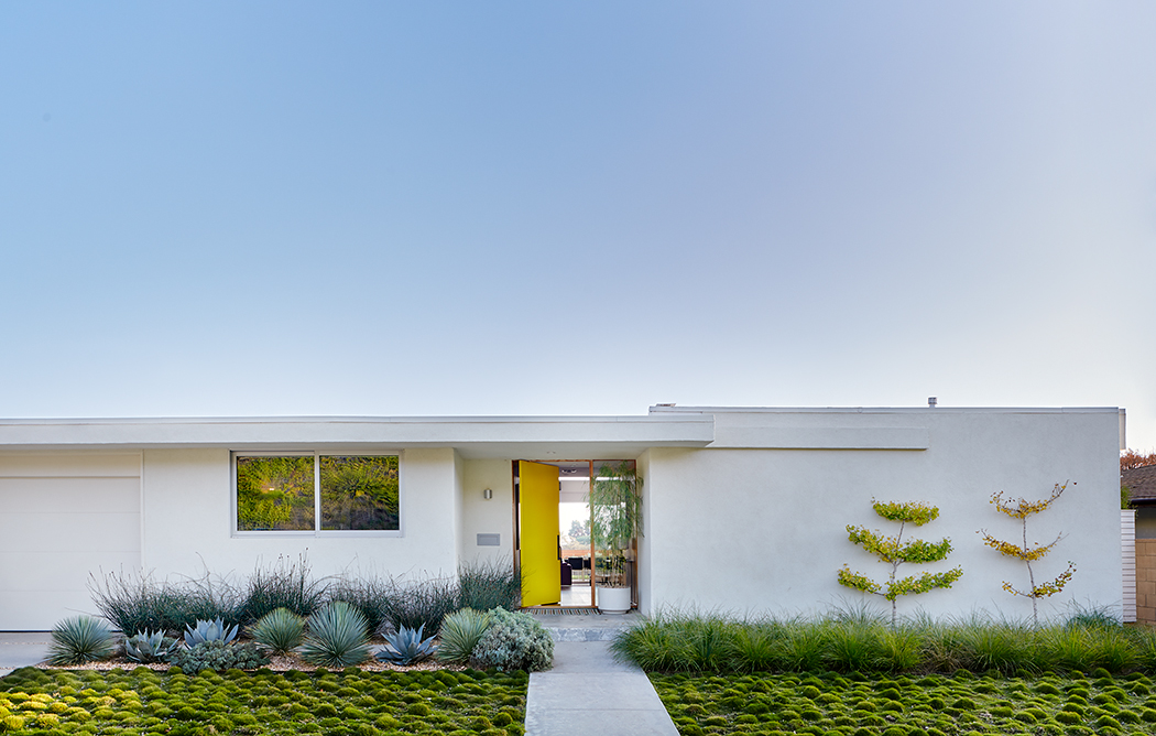 bestor architecture Breathtaking Design Projects by Bestor Architecture Tondro BestorCarter NaderResidence FrontElevation