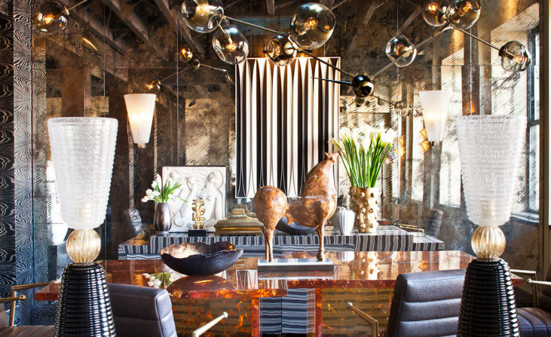 Tribeca Loft kelly wearstler Most Iconic Designs by Kelly Wearstler coveted Top Interior Designers Kelly Wearstler Tribeca Loft1