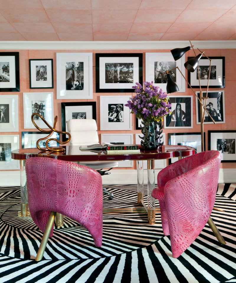 kelly wearstler Most Iconic Designs by Kelly Wearstler coveted Top Interior Designers Kelly Wearstler contemporary office library kelly wearstler bel air california 201301 2 1000 watermarked1