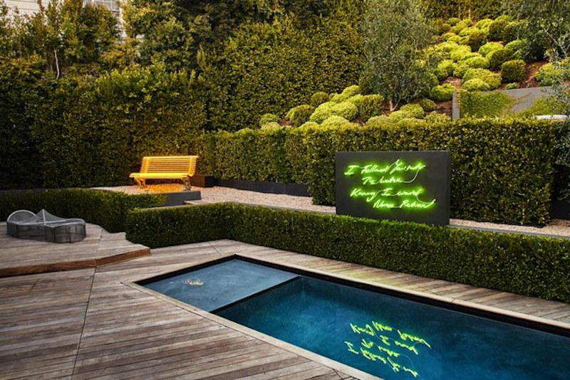 Admire This Hollywood Mansion With An Eccentric And Neon Concept