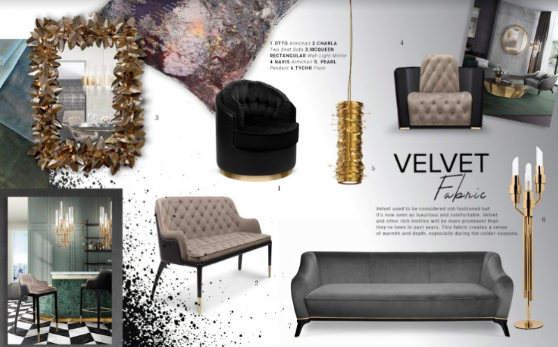 Velvet Fabric, Get Inspired On A Timeless Trend Décor