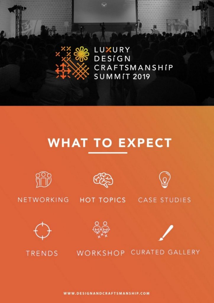 What to Expect From The 2º Luxury Design & Craftsmanship Summit luxury design & craftsmanship summit What to Expect From The 2º Luxury Design & Craftsmanship Summit LDC3 768x1086