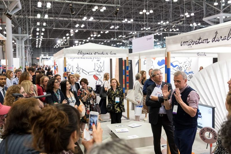 Astek Wallcovering Inc. Will Surprise At ICFF 2019 icff 2019 Astek Wallcovering Inc. Will Surprise At ICFF 2019 icff nyc pic e1555415872948