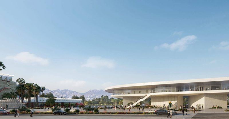 lacma LACMA Get Approval For Its Renovation By Peter Zumthor peter zumthor new LACMA building los angeles designboom 02 e1557156803990
