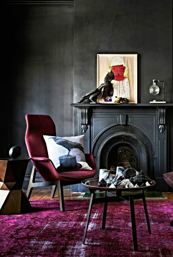 cassis color Cassis Color: The Tone that Stands Out In Any Furniture 12