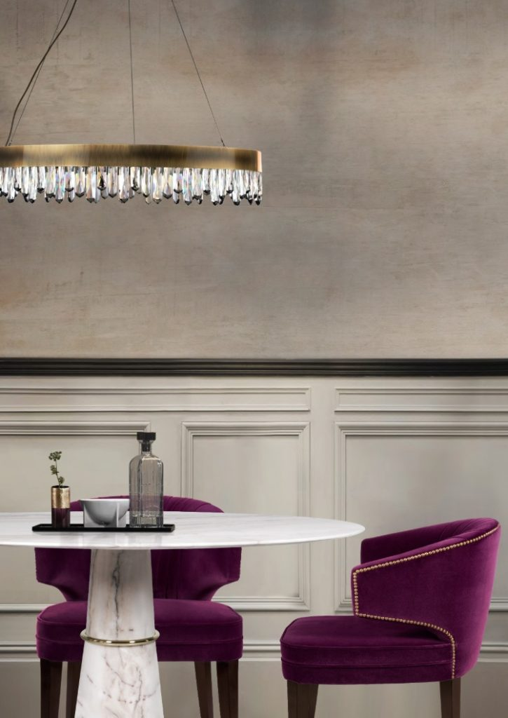 cassis color Cassis Color: The Tone that Stands Out In Any Furniture BRABBU Ibis Dining Chair