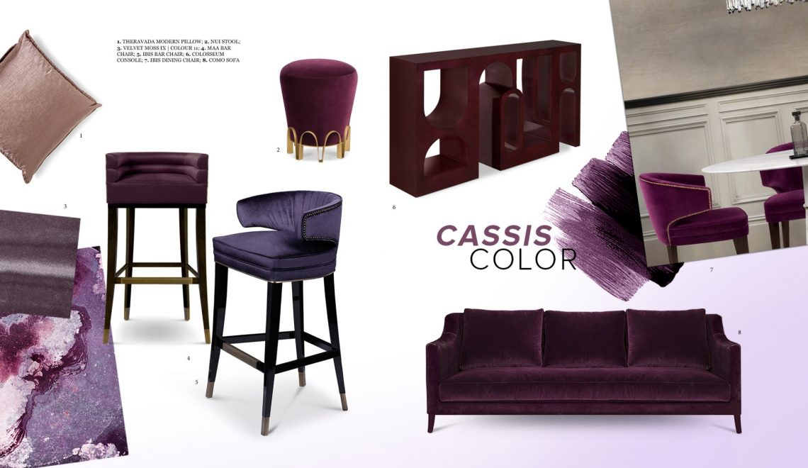 Cassis Color: The Tone that Stands Out In Any Furniture