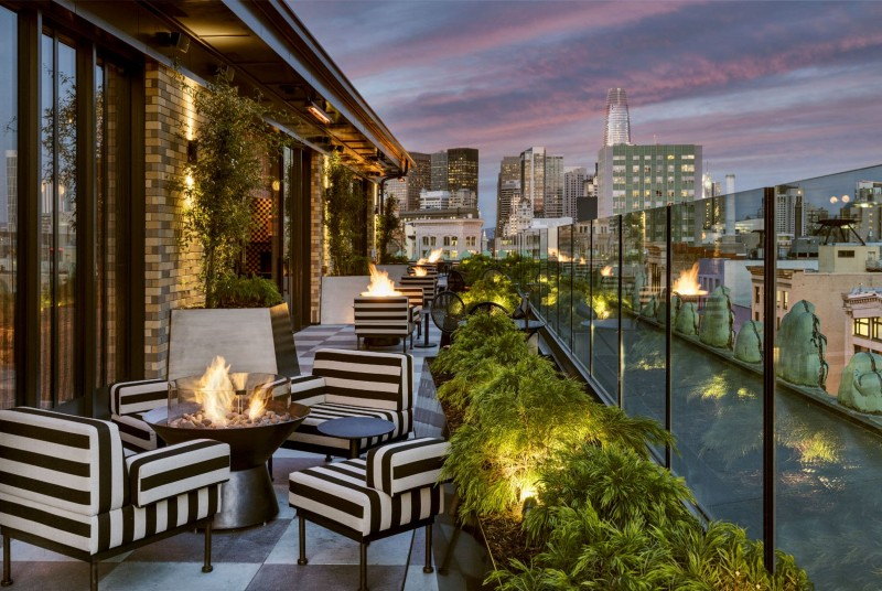 Discover Charmaine's, Kelly Wearstler's Amazing Rooftop Project