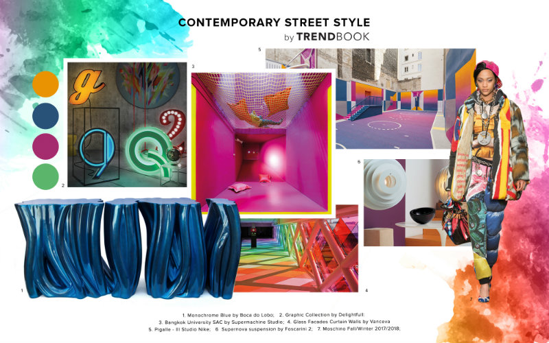 Contemporary Street Decor: Street Style In Your LA Home